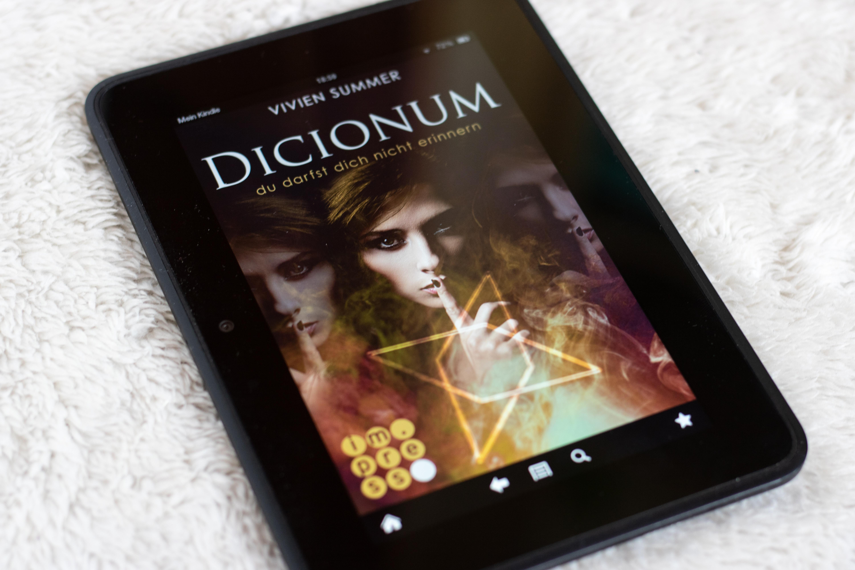 Buchrezension: Dicionum – Du darfst dich nicht erinnern von Vivien Summer