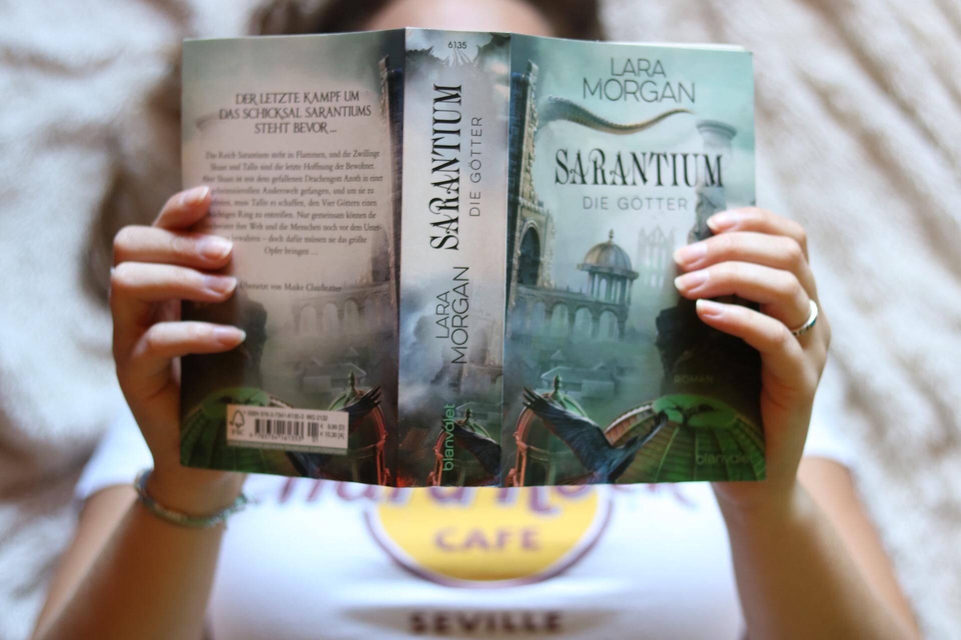 Buchrezension: Sarantium – Die Götter | Lara Morgan