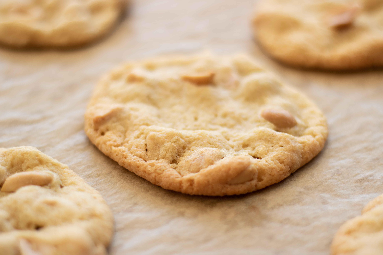 Rezept | Erdnuss Cookies