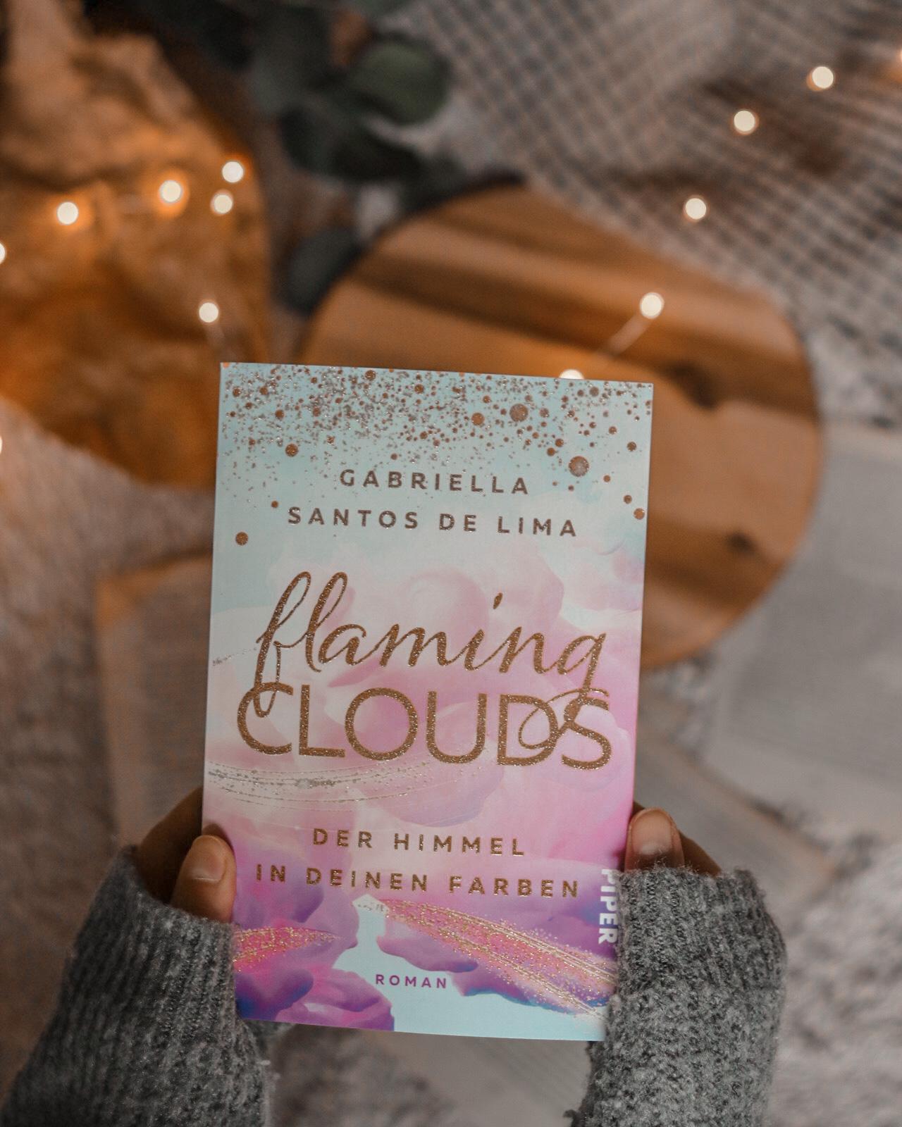 Flaming Clouds | Gabriella Santos de Lima