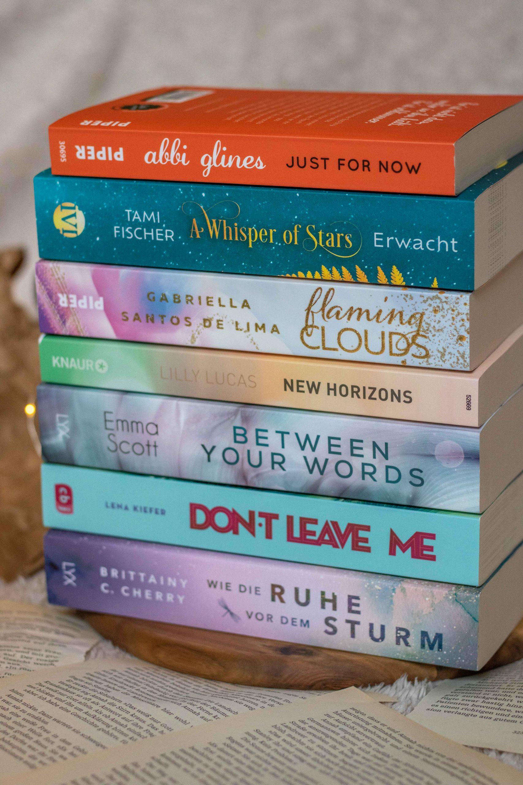 Leseliste März 2021 | Jetzt kommen die Liebesromane