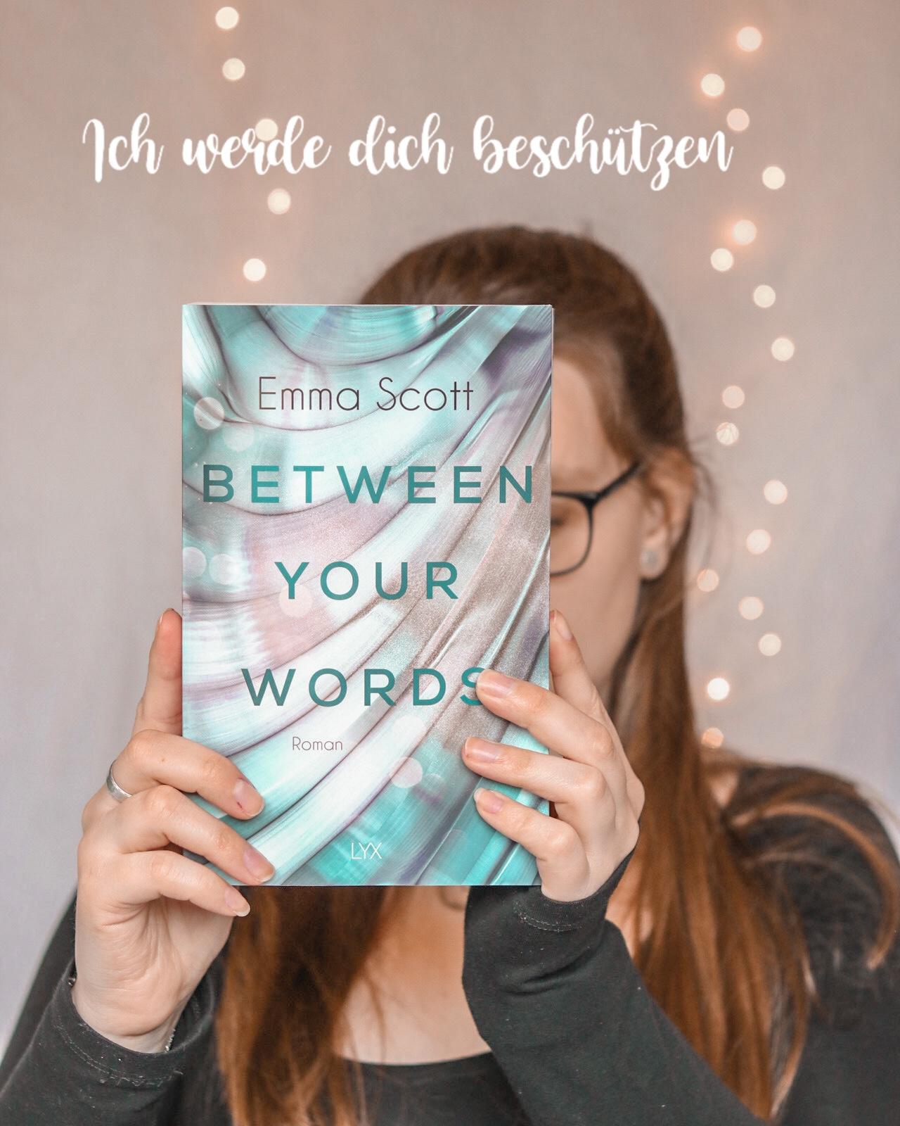Between your Words | Emma Scott